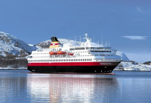 Hurtigruten Ship in Norway
